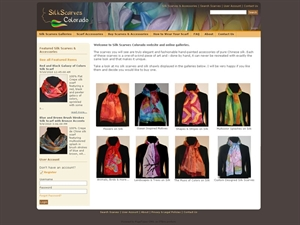 Silk Scarves Colorado