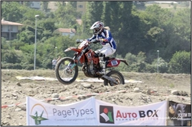 PageTypes taking part in Balkan Offroad Marathon 2011