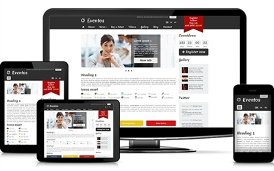 SMB website adaptive events theme
