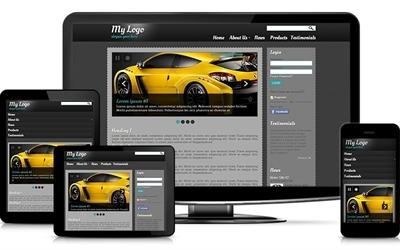 Small-Medium business website adaptive theme