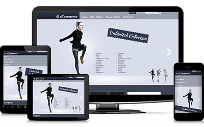 SMB website adaptive eCommerce theme